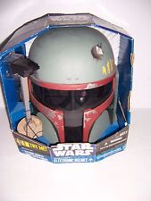 Star Wars Boba Fett Electronic Helmet In Box Hasbro 94995