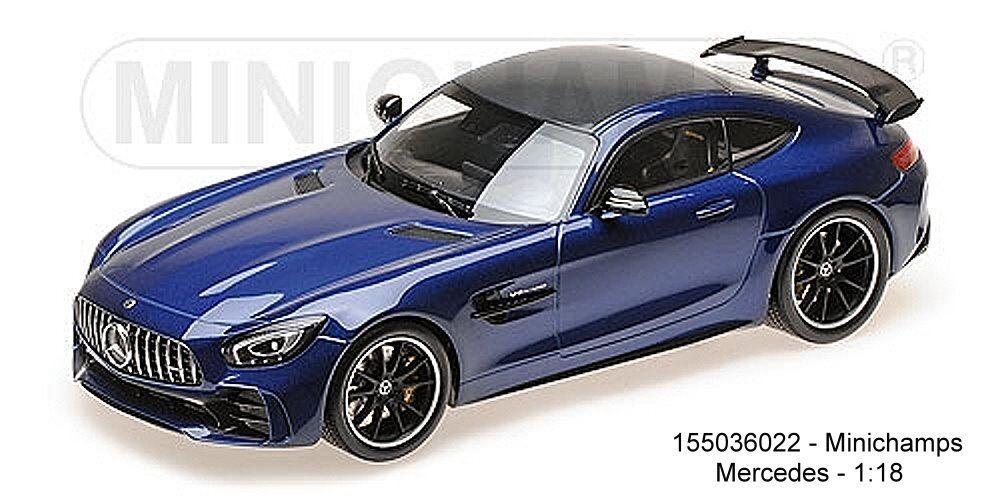 Minichamps 155036022- Mercedes AMG Gt-R – 2017 – Blu Metallizzato