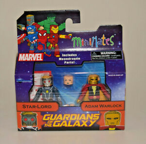 Marvel Minimates Series 79 Star-Lord & Adam Warlock Guardians of the Galaxy NEW