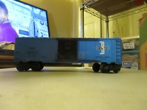 LIONEL-6464-475-BOSTON-AND-MAINE-BOXCAR-COMPLETE-EXCELLENT-CONDITION-CLEAN