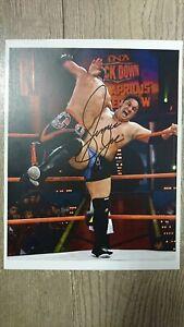 Samoa-Joe-Signed-Photo-WWE-NXT-IMPACT-TNA-RARE
