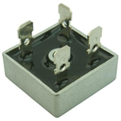 5 Pieces  KBPC2510 25A 1000V Metal Case Single Phase Diode Bridge Rectifier