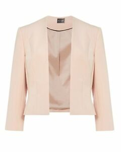 12 Ex Blazer 12 8 16 18 Giacca Eight Pink sf Blazer Phase 8 Blush 14 AEpvTq