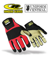 Ringers Rope Leather / Nylon Rescue Gloves - Firefighter - 355