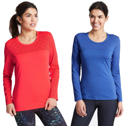 Marks /& Spencer Womens Punch Hole Long Sleeve Sports Gym Top New M/&S T Shirt