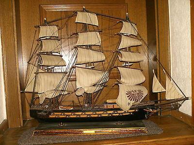 Altes Schiff Fragata Espanola Ano 1780