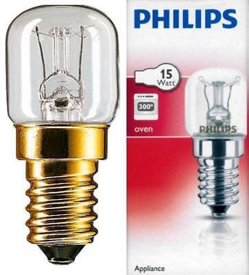 2 x 15w Universal 300c Cooker Oven Appliance Bulb  SES E14 Light Bulbs 240V New
