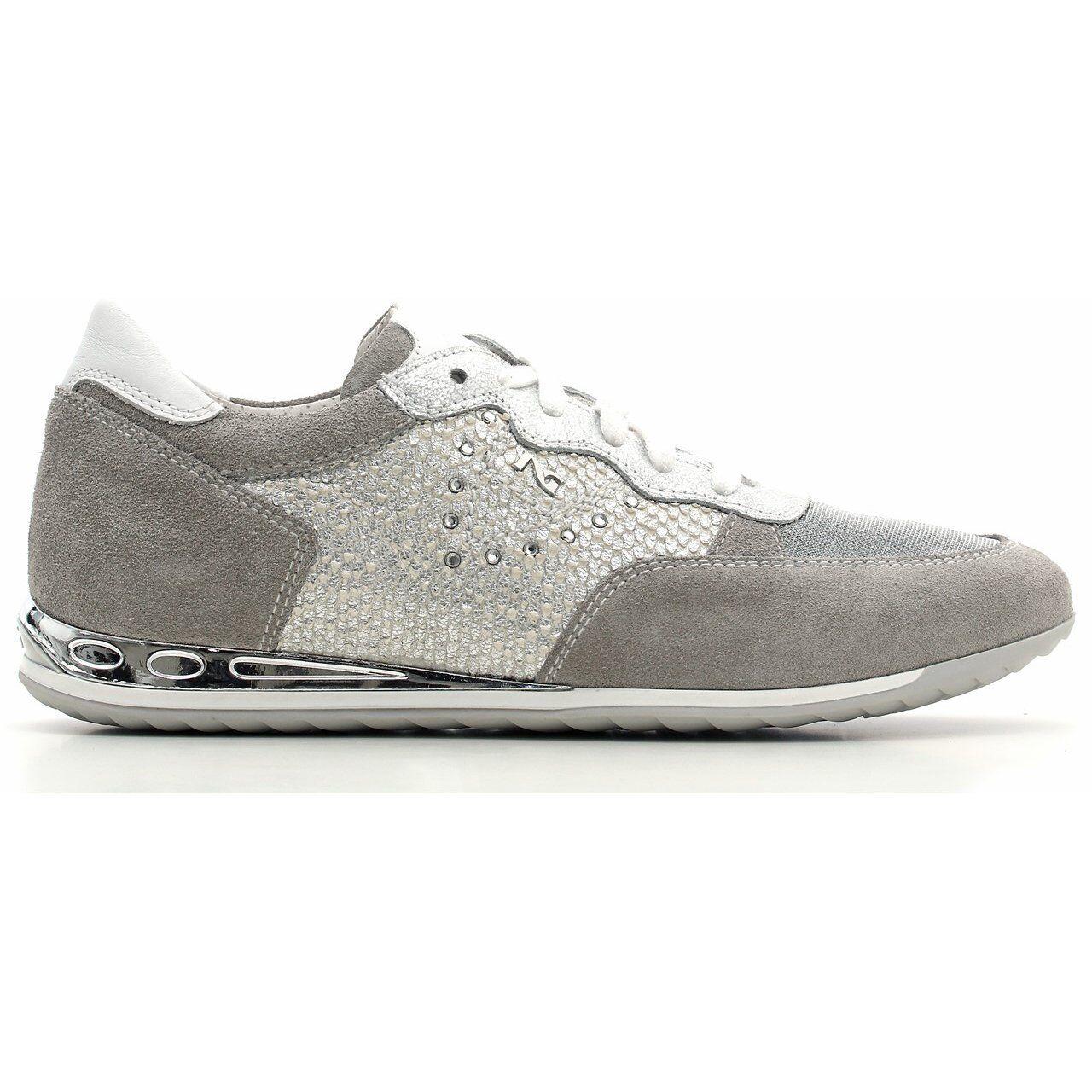 Gran descuento Descuento por tiempo limitado Sneakers-scarpa sportiva NeroGiardini nuova collezione P615081D SOLO 40