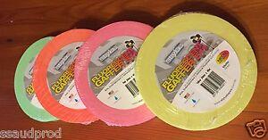 4-rolls-Nashua-Stylus-511-Neon-Fluoro-Gaffer-Tape-48mm-x-45m-Tape-FAST-FREE-POST