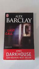 Alex Barclay - Last Call