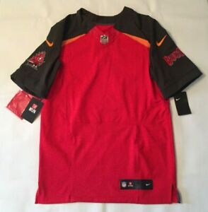 promo code 3bf28 875a5 Details about NWT $325 NIKE NFL TAMPA BAY BUCCANEERS ONFIELD ELITE FOOTBALL  JERSEY BLANK SZ 40