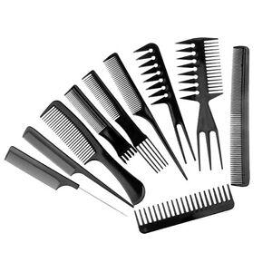 Set-10-Pettine-Capelli-Dentati-Acconciatura-Misti-Parrucchiere-Pettini-Barbiere