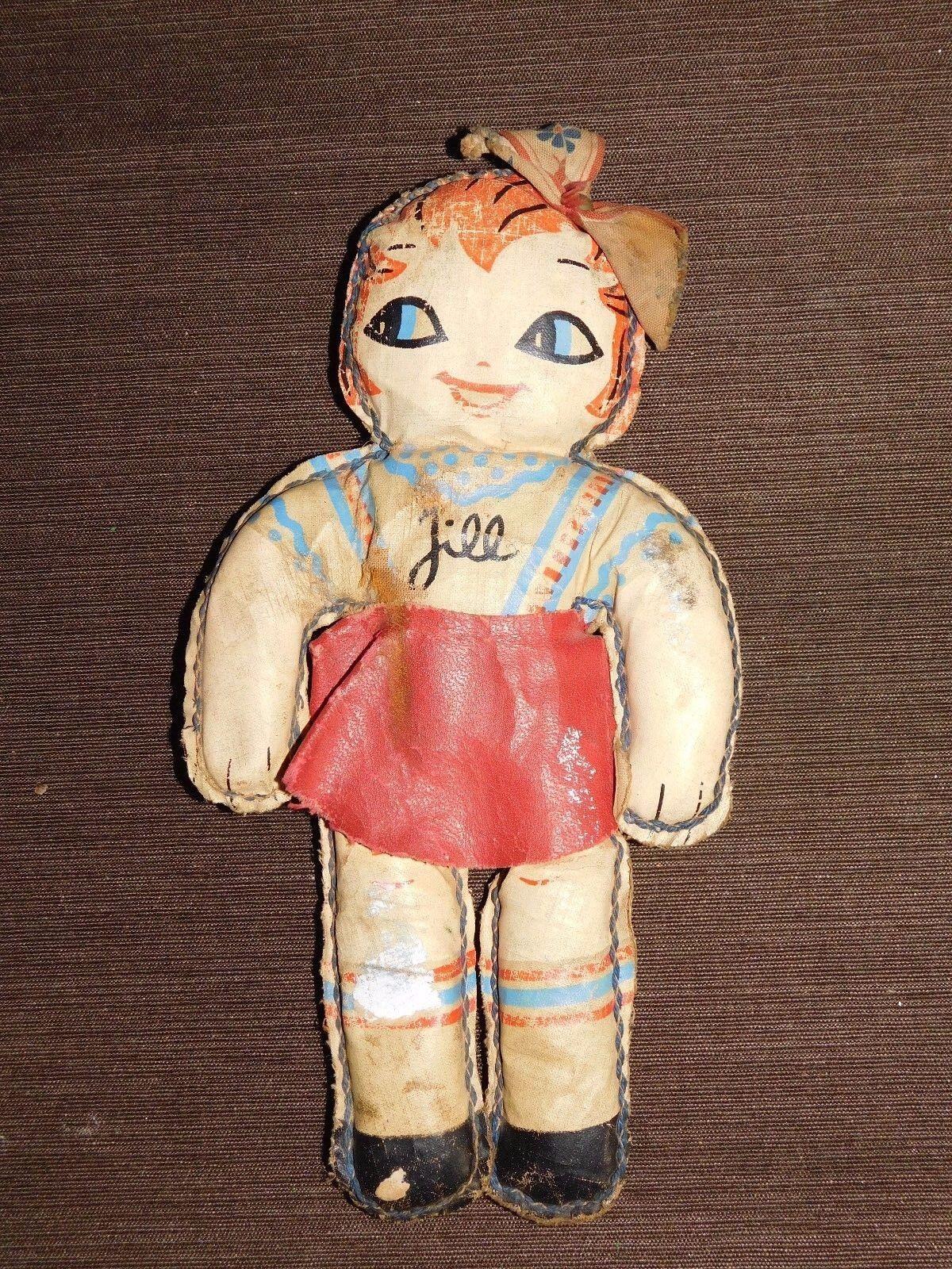 Antiguo Vintage Muñeca de Juguete de 9 1 2  alta Jill
