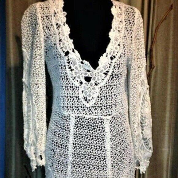 Free People Vintage Lace Dress - image 5