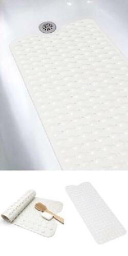 Non Slip Bath Tub Mat Anti Slip Extra Long Large Rubber Shower Square Mat Pad