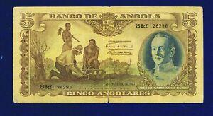 Angola-5-Angolares-1947-PIC77-VG-FINE-1262967-CL-1