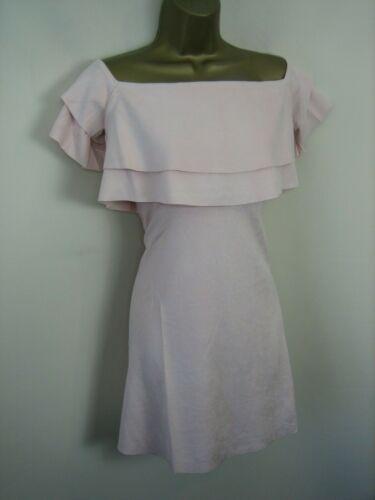 FAUX SUEDE EVENING PARTY DRESS BY JCL Design in Paris Size 8 10 12