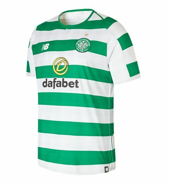 New Balance Celtic FC  2018  2019 Home Soccer Jersey bianca verde Kids  Youth