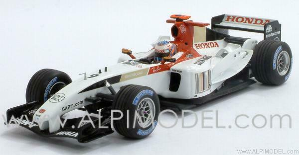 BAR 006 Honda Jenson Button 2004 1 43 MINICHAMPS 400040009