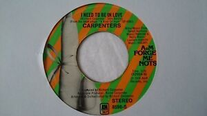 CARPENTERS-I-NEED-TO-BE-IN-LOVE-7-034-VINYL-SINGLE