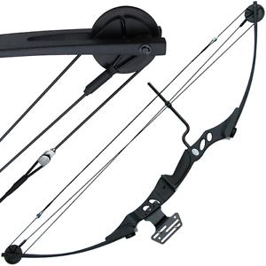 55LB Black Hotaka Rambo Style Compound Archery Shooting Bow & Adjustable Sight