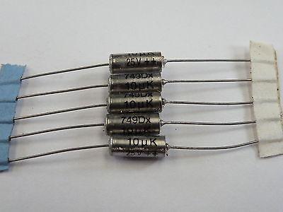 10uF 25v  Sprague Axial Tantalum Capacitors  NOS  Lot of 10 pcs.