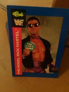1991-Classic-WWF-trading-card-Rick-034-The-Model-034-Martel-102