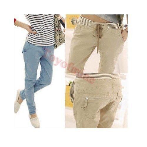 2013 NEW Korean cotton casual pants Slim trousers feet wild fashion harem pants