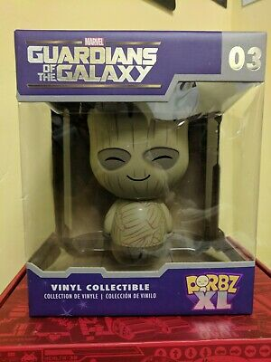 DORBZ XL GUARDIANS OF THE GALAXY VINYL COLLECTABLE FIGURE MARVEL #03 GROOT