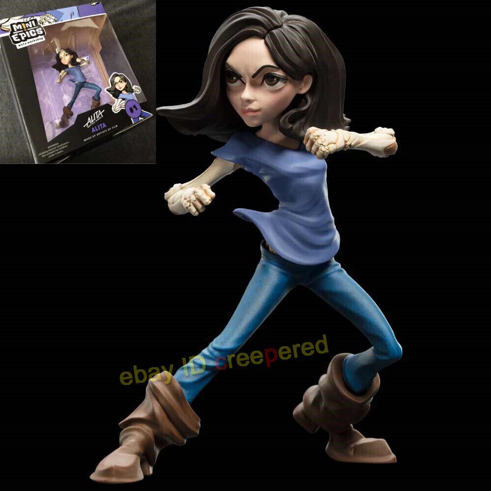 Weta 2018 2018 2018 SDCC Alita Battle Angel Figure MINI EPICS ALITA ZAPAN DR IDO Model 62d5a9