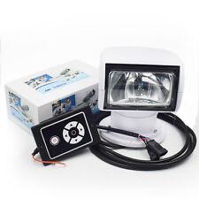 Boat Remote Control Spotlight SUV Car Marine Remote Searchlight 12V 100W Bulb
