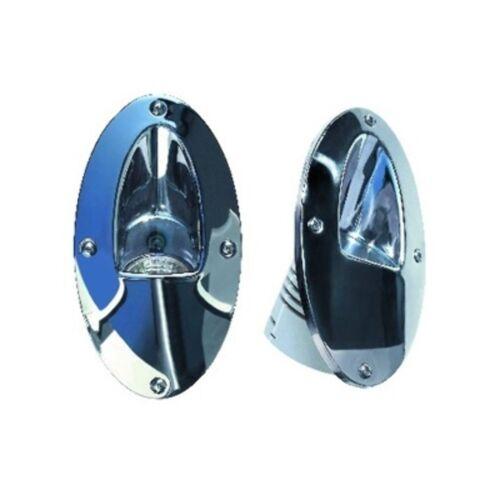 Aqua Signal 2 Stainless Steel Halogen Docking Lights 12 volt 50 Watt 85104-7 MD