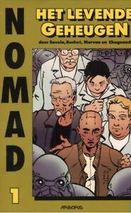 Nomad-1-Het-levende-Geheugen-1ste-druk