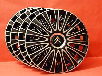 """C4 Picasso Berlingo Tapacubos C5 etc adornos de ruedas//cubiertas 15/"""" Citroen C3"""