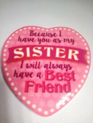 A Keepsake Sister Magnet A Gift for Sister