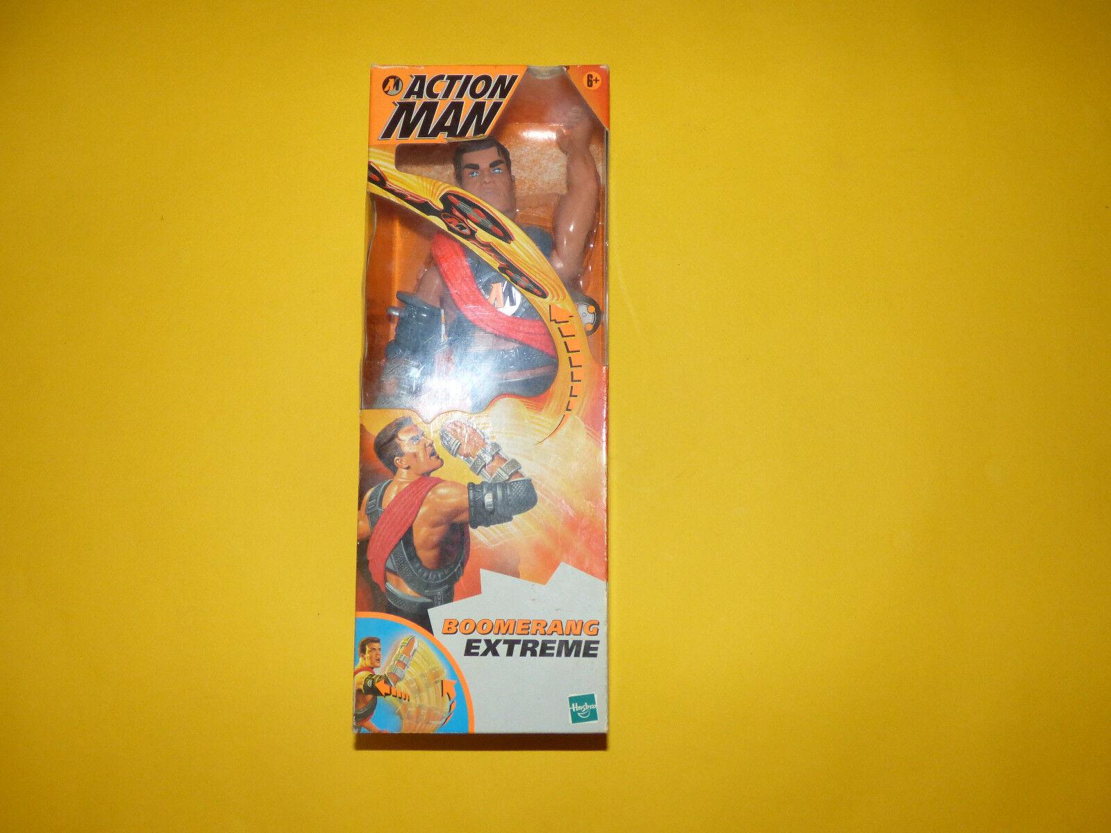 Figura de acción de hombre boomerang Extreme En Caja Nuevo Viejo Stock  Raro