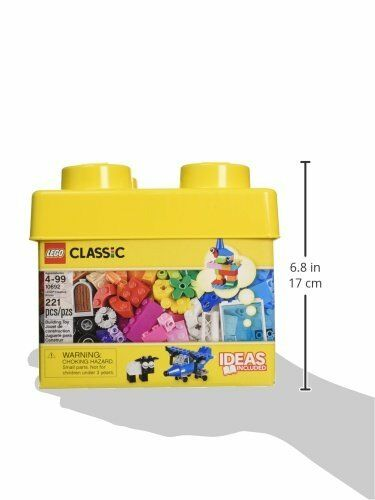 221 Pieces LEGO Classic Creative Brick Box Building Blocks Learning Toy 10692