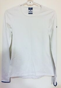Fit Pro mujer Dri talla para blanca manga S Camiseta Nike larga de wzXBWq01