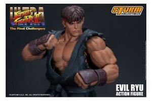 Ultra Street Fighter II Action Figure Awoken to Satsui no Hado Ryu Storm NEW