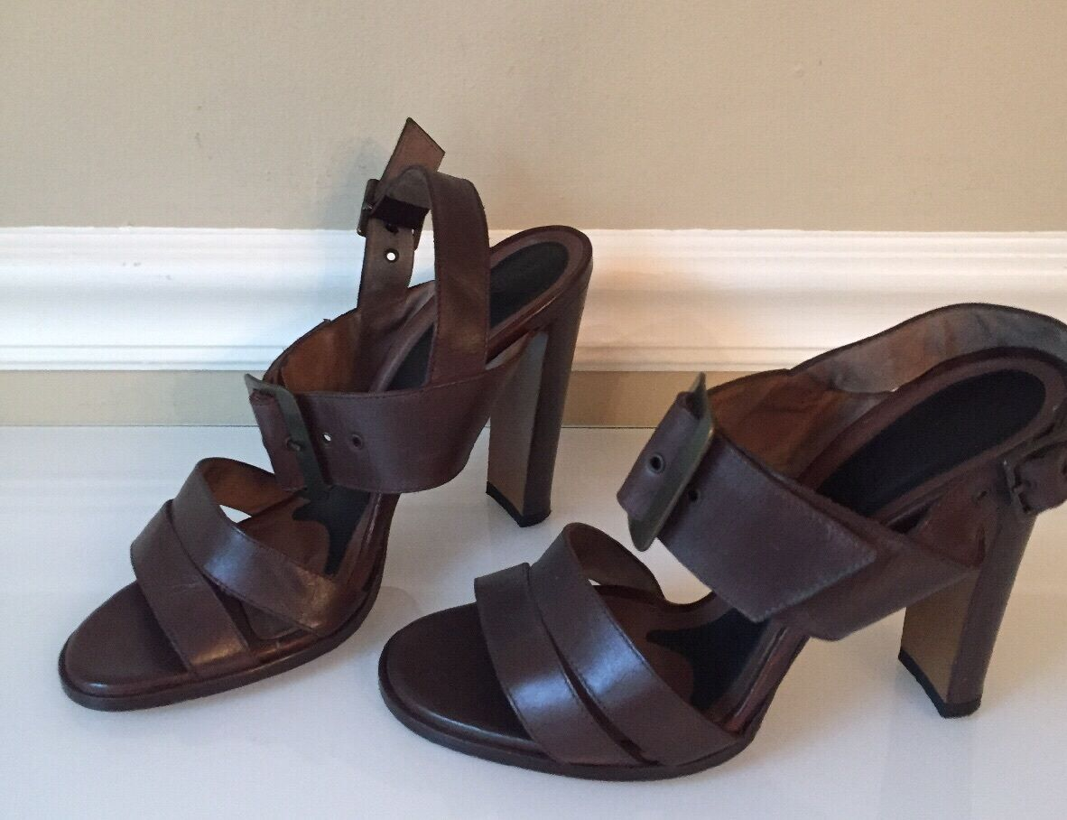 MARNI Brown Leather Sandals - Retails for  650. Super Cute  Size 9.5