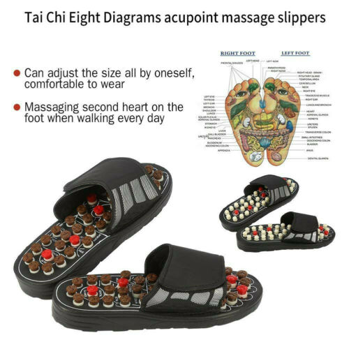 Foot Massage Slippers Acupuncture Therapy Massager Shoes For Foot Acupoint