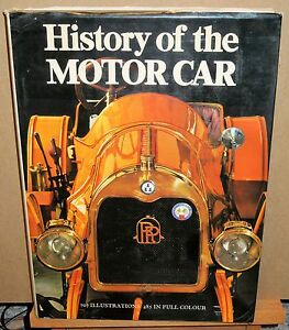 History-of-the-Motor-Car-by-Marco-Matteucci-1977-Reprint-Hardcover