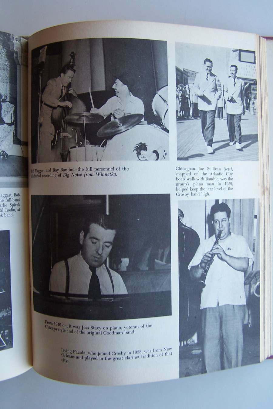 Pictorial History of Jazz Hardcover 1968 Keepnews & Gra
