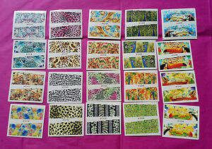 "20 Sets Tropical Animals Nail Art Stickers Water Decals Transfer C 2.75"" #I"