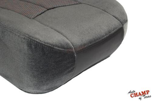 03 04 05 06 07 Chevy Silverado 3500-Driver Side Bottom Cloth Seat Cover 69D Gray