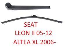 AERO Heck-Scheibenwischer Arm Set SEAT Leon II 2 mk2 04-12 Altea XL 06- Blue Chi