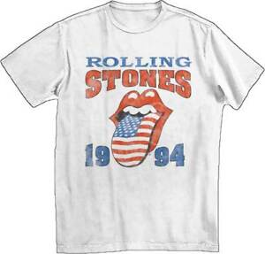 Rolling-Stones-1994-Stones-Rock-Music-Band-Adult-Mens-T-Tee-Shirt-White-31270749