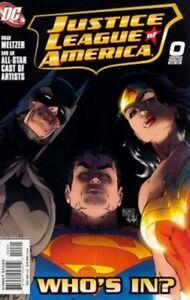 Justice-League-of-America-0-DC-Comic-1st-Print-2006-NM