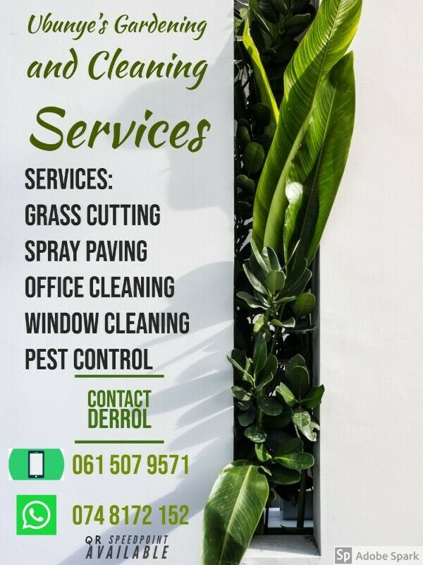 GRASS CUTTING / PEST CONTROL / OFFICE CLEANING