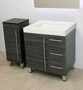 Windbay 30 Quot Free Standing Bathroom Vanity Sink Set
